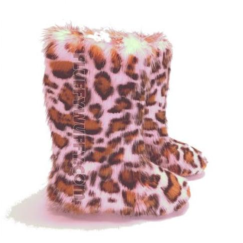 812c03852cd Pink Cheetah Print – Fluffy Wuffies Classic Tall Boots