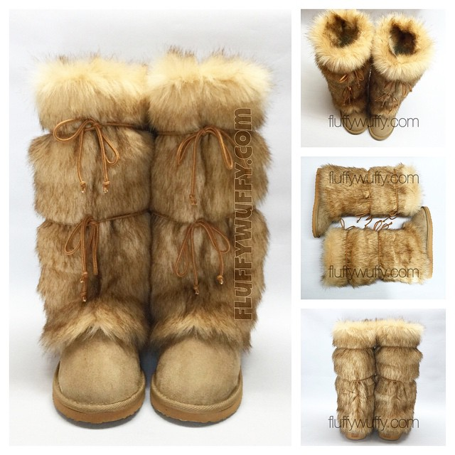 a373162c07f Wedge Heel * Lioness Extra Tall - Northstar Fur Company