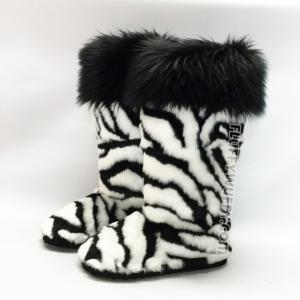 zebra w black cuff