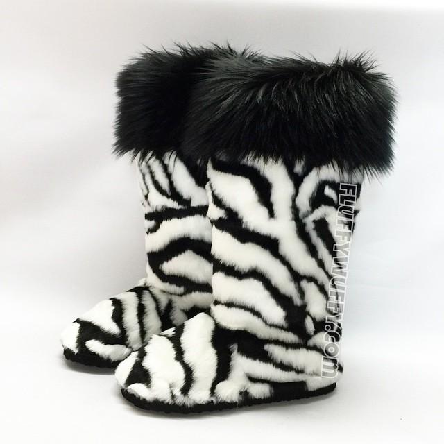 c3c3b0c34ef Zebra Print with Black Cuff - Northstar Fur Company