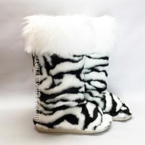 zebra w white cuff