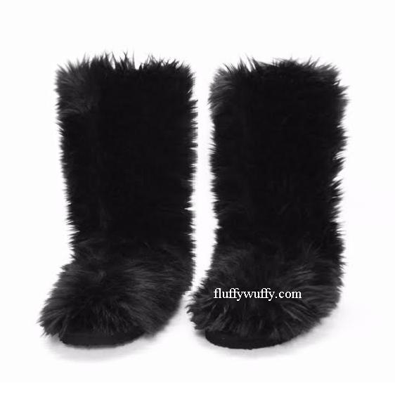 510e6ac40e85 Classic Tall (Item 20) Solid Black - Northstar Fur Company