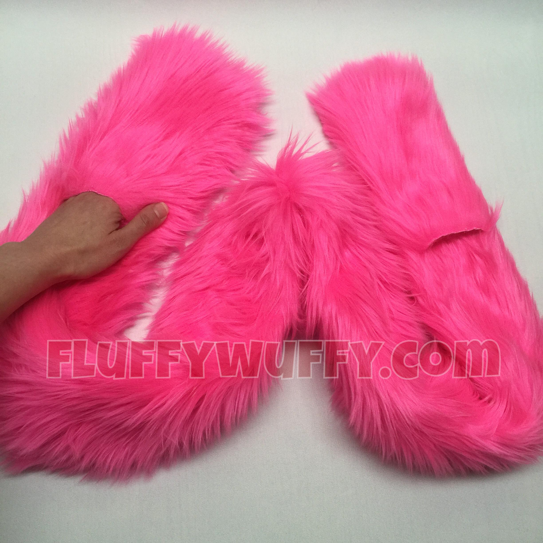 Pocket Scarf - Hot Pink - Northstar Fur Company 8a9a9d1cd5b2