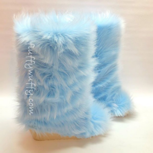 1e6ee2172bf Fluffy Wuffy Faux Fur Boots! The Most Awesome Boots Ever